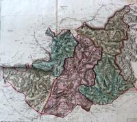 Districts des Basses-alpes - 1790