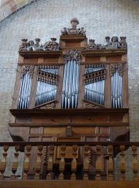 8-L'orgue de l'église Saint-Lizier