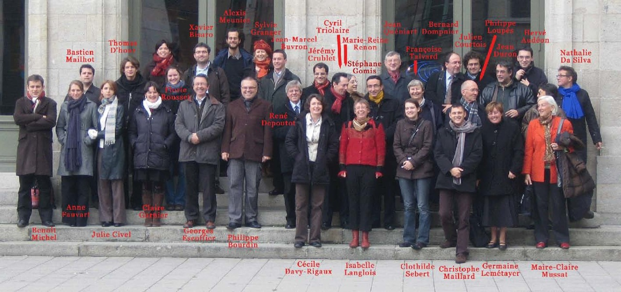 Photo de groupe - Le Puy-en-Velay - 2007